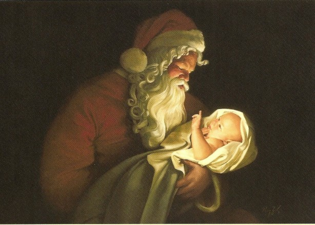 Santa_and_Christ